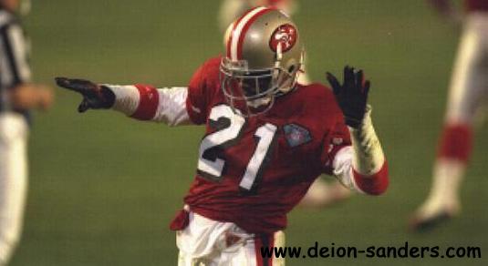 gallery for deion sanders 49ers wallpaper